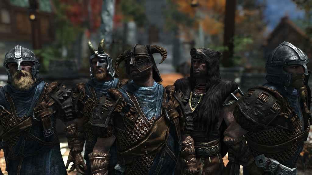 Мод Skyrim — Изменение брони Братьев бури