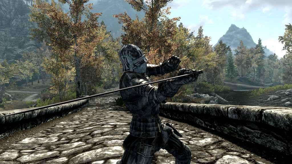 Мод Skyrim — Средневековая готическая броня