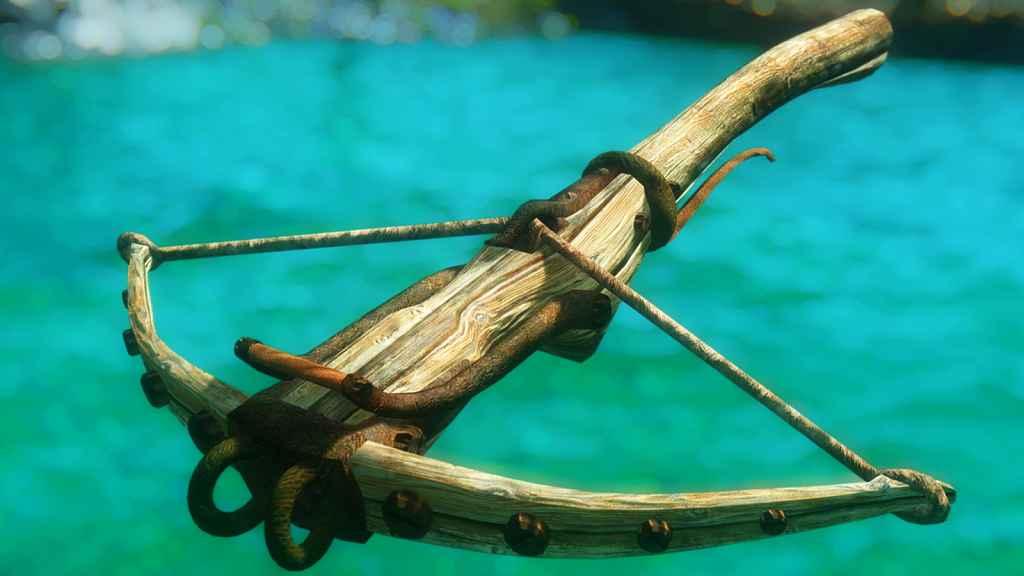Мод Skyrim — Деревянный арбалет