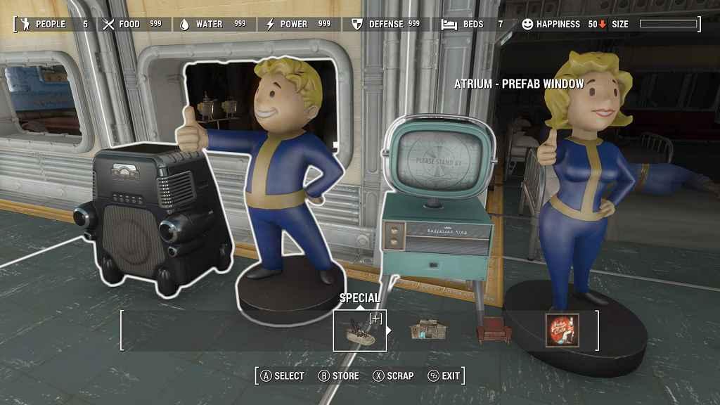 Fallout 4 — Увеличение радиуса действия электрощита и снятие лимита строительства