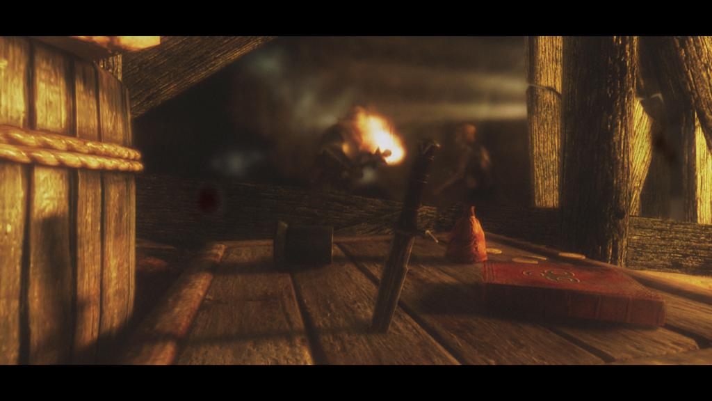Мод Skyrim — Создаваемые факелы