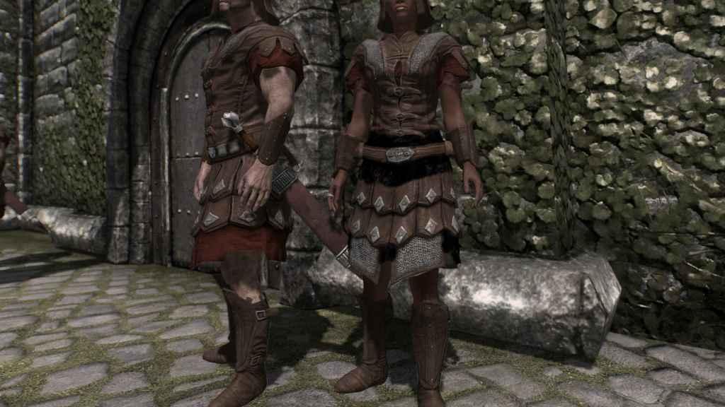 Мод Skyrim — HD текстуры для всей имперской брони