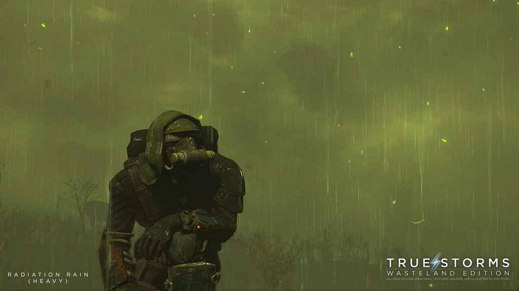 Fallout 4 — Новые текстуры и звуки для дождя и грома