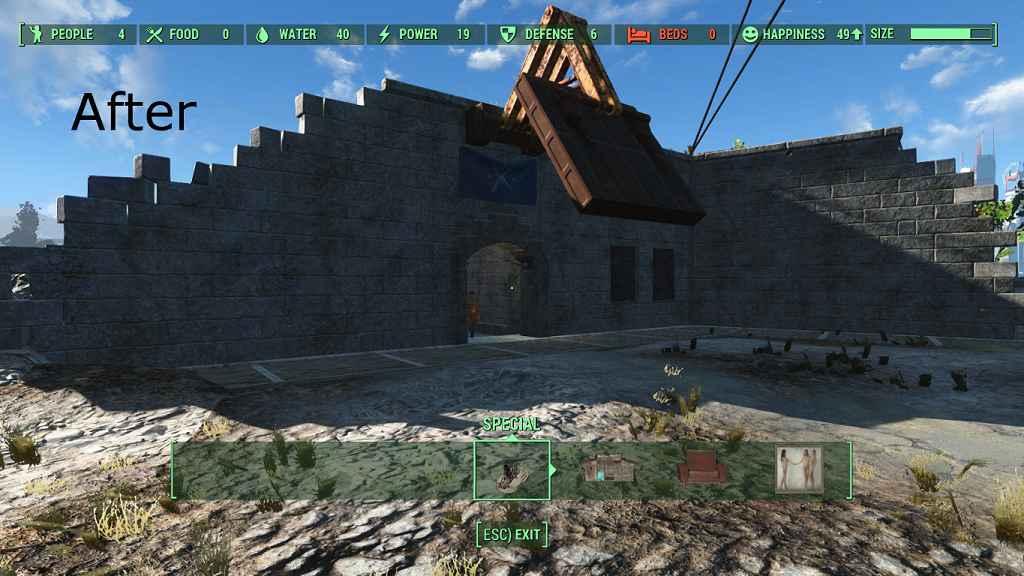 Модификация Fallout 4 — Весенняя уборка