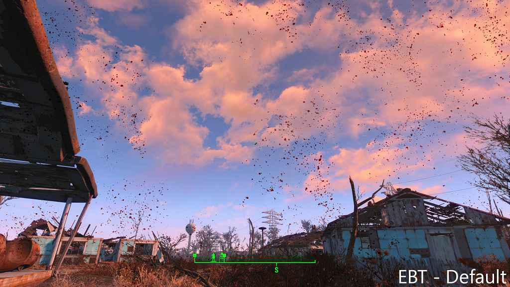 Модификация Fallout 4 — Улучшенные текстуры крови / Enhanced Blood Textures