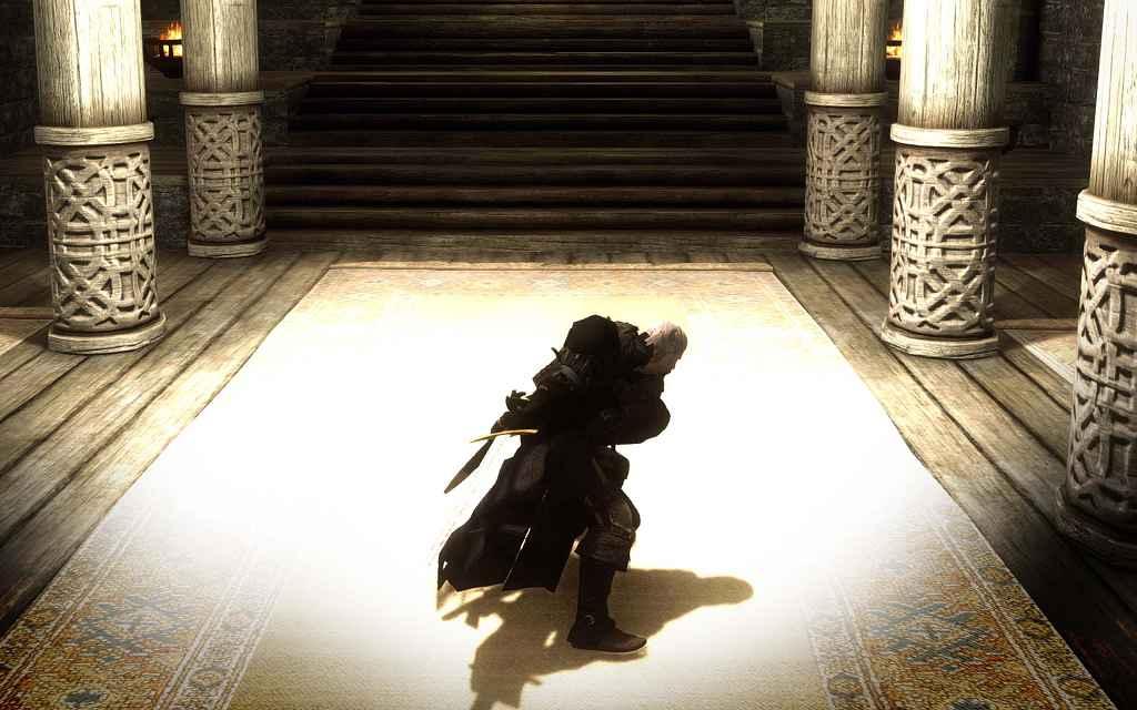 Мод Skyrim — Новая анимация для двуручного оружия