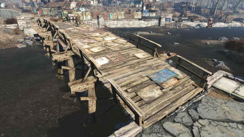 Модификация Fallout 4 — Мост в Сэнкчуари-Хиллз
