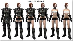 Skyrim — Новые варианты оригинальной брони для UNP тел