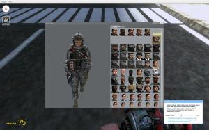 Мод Garrys mod 13 — Модель игрока CoD MW2