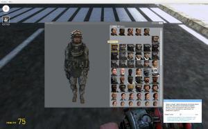Garrys mod 13 — Модель игрока CoD MW2