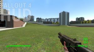 Мод Garrys Mod — HUD из Fallout 4