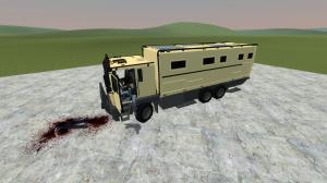 Мод Garrys Mod — Пассажирский грузовик из GTA 5
