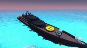 Мод Garrys Mod — Супер яхта