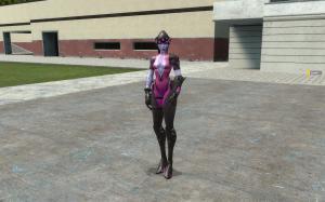 Garrys Mod — Модель игрока Widowmaker