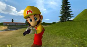 Мод Garrys Mod — Игровая модель Марио