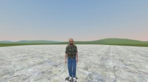 Мод Garrys Mod — Игровая модель Лестера