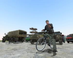 Мод Garrys Mod — Пак транспорта из Arma II