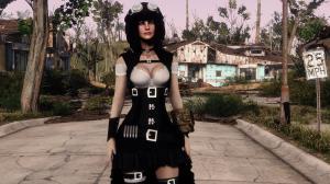 Модификация Fallout 4 — Стимпанк броня для девушек (CBBE)