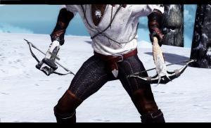 Модификация Skyrim — Арбалет из Ведьмака 3