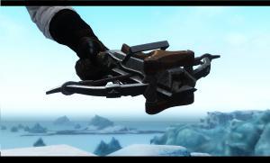 Skyrim — Арбалет из Ведьмака 3
