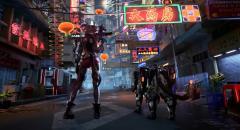 Аниме-девочка и её кибермедведь с косичками — технодемо SYN, киберпанкового шутера в открытом мире