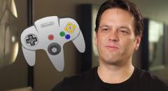 Фил Спенсер до сих пор не понимает, как держать диковатый контроллер Nintendo 64