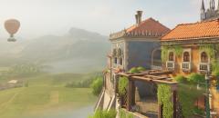 Overwatch получила новую карту — итальянский городок Малевенто