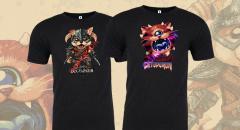 В рамках онлайн-ивента QuakeCon at Home можно купить футболки с Собакином и Котодемоном