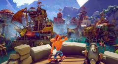 Йо-хо-хо и ящики с вампа-фруктами — геймплей Crash Bandicoot 4: It's About Time