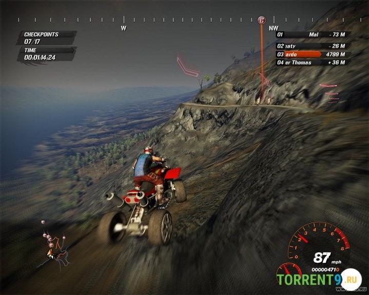 Скриншот к игре Fuel