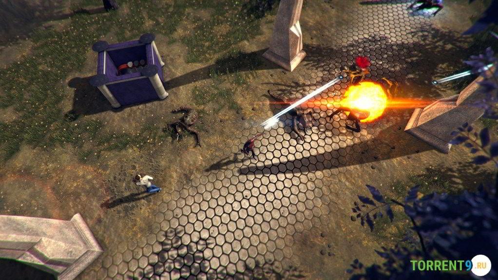 Скриншот к игре Infinitesimal Point