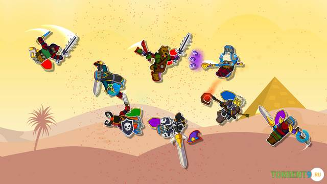 Скриншот к игре Floppy Heroes