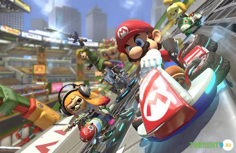 Скриншот к игре Mario Kart 8 Deluxe