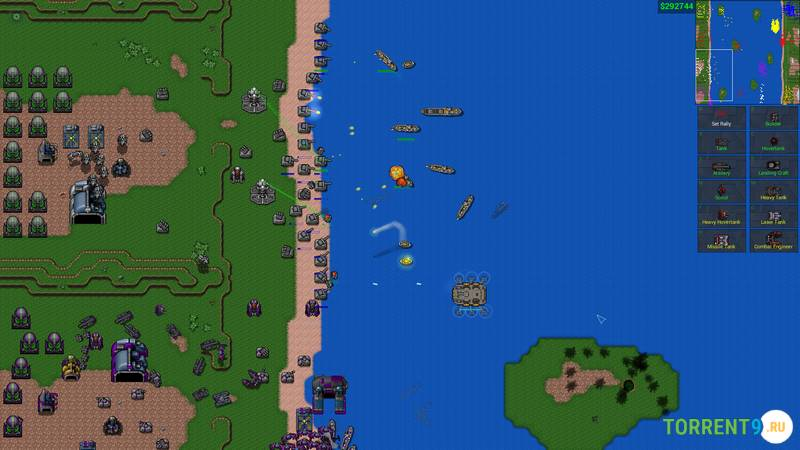 Скриншот к игре Rusted Warfare - RTS