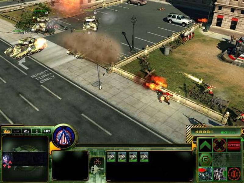 Скриншот к игре Act of War: Direct Action