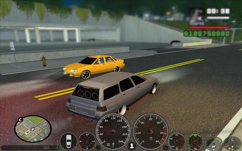 Скриншот к игре ГТА Хасавюрт