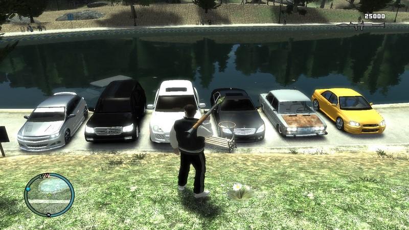 Скриншот к игре ГТА 4 Финал Мод