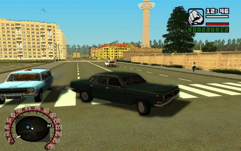 Скриншот к игре ГТА Криминальная Россия