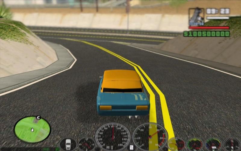 Скриншот к игре ГТА Сан Андреас Дагестан 2