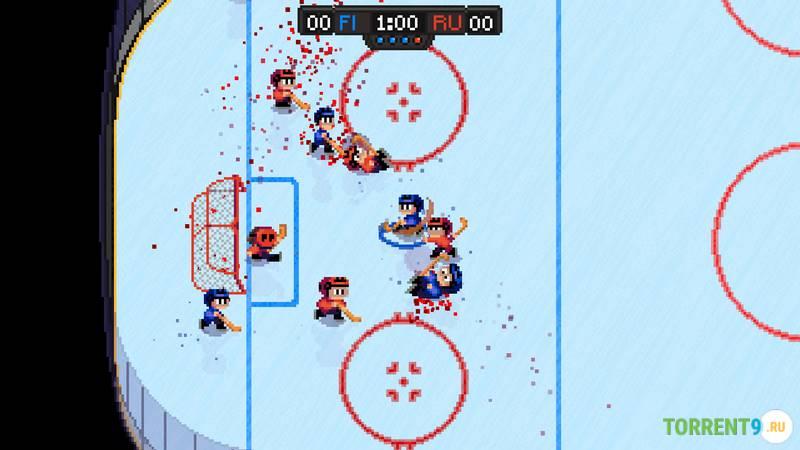 Скриншот к игре Super Blood Hockey
