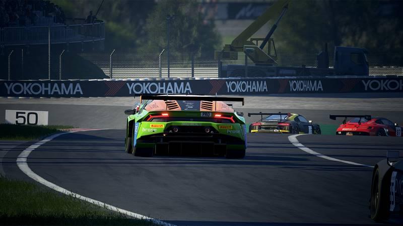 Скриншот к игре Assetto Corsa Competizione