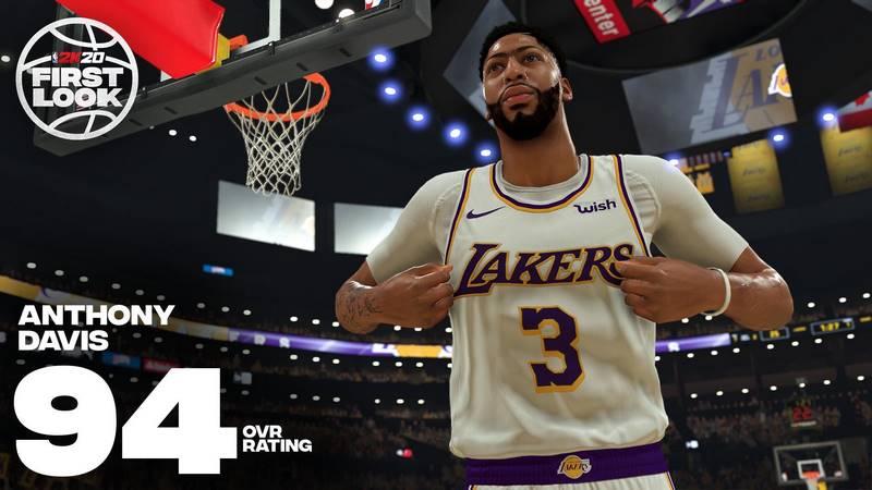 Скриншот к игре NBA 2K20