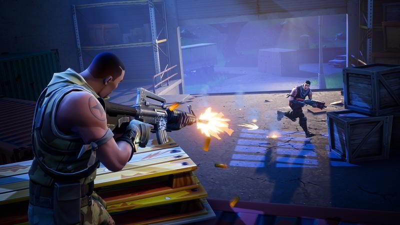 Скриншот к игре Fortnite Battle Royale
