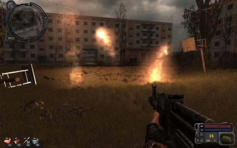 Скриншот к игре Сталкер Припять Точка отсчета