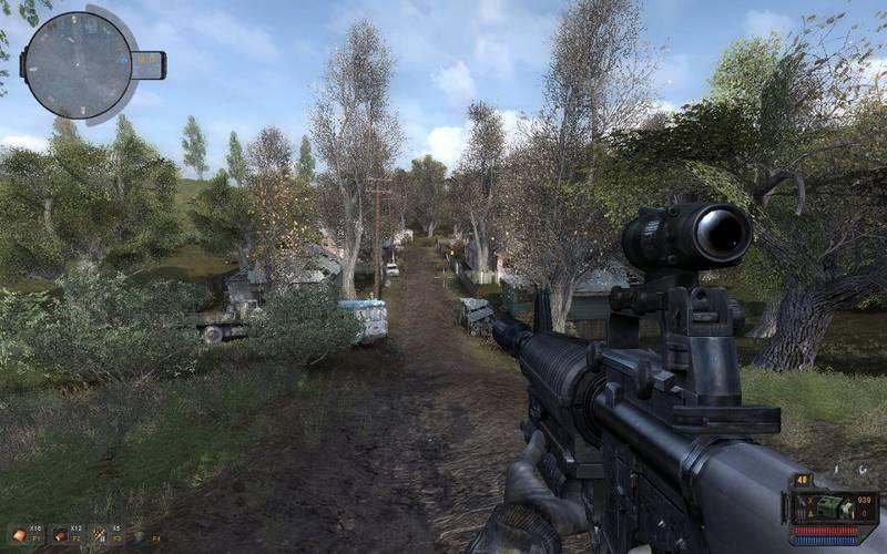 Скриншот к игре Сталкер Путь в Припять