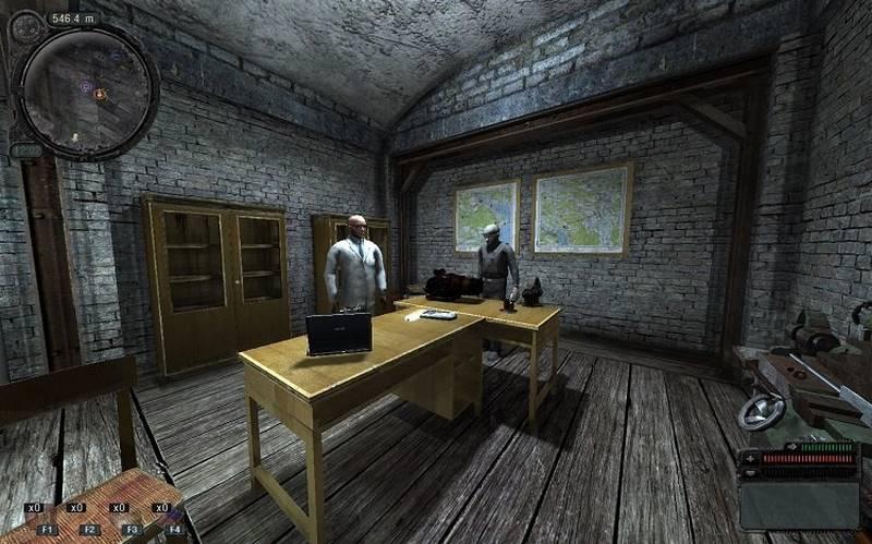Скриншот к игре Сталкер с модами